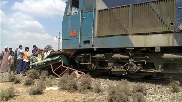 حادثة قطار في مصر