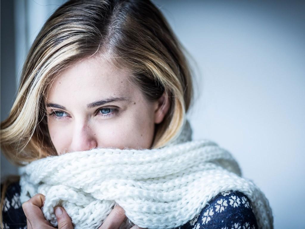 الشتاء - اكتئاب