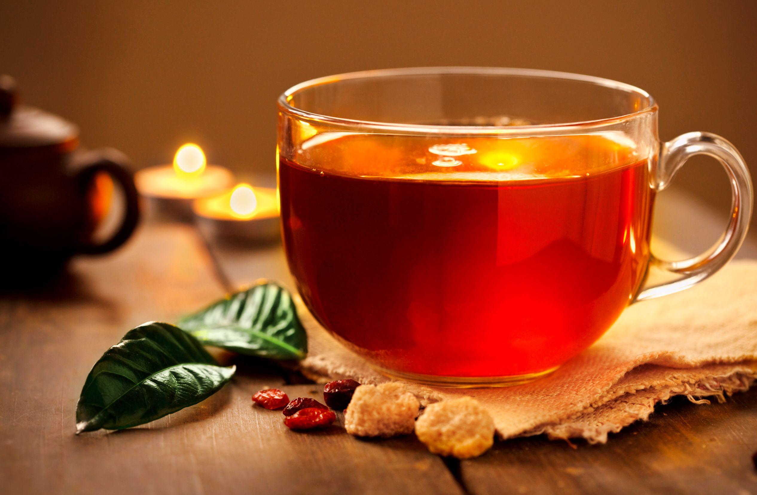 شرب الشاي