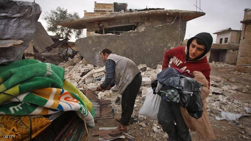 النزوح في سوريا