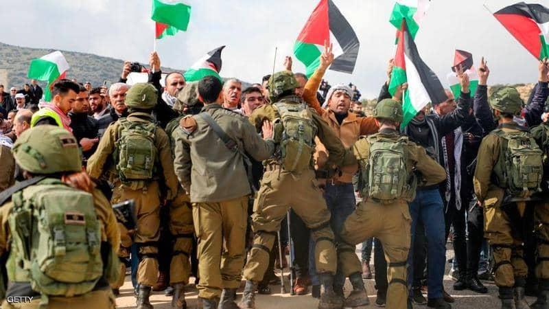 مظاهرات في فلسطين ضد صفقة القرن
