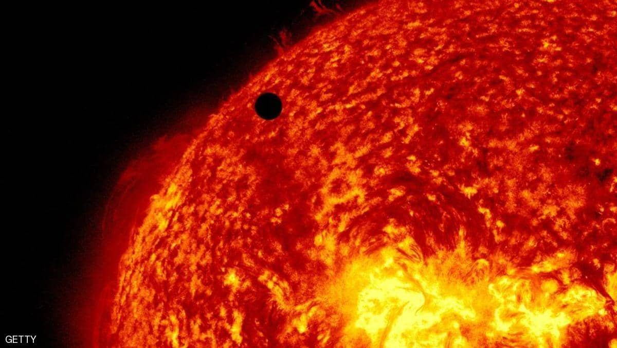سطح الشمس