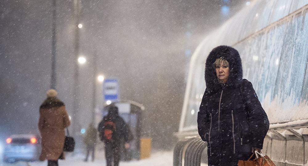 الشتاء في روسيا