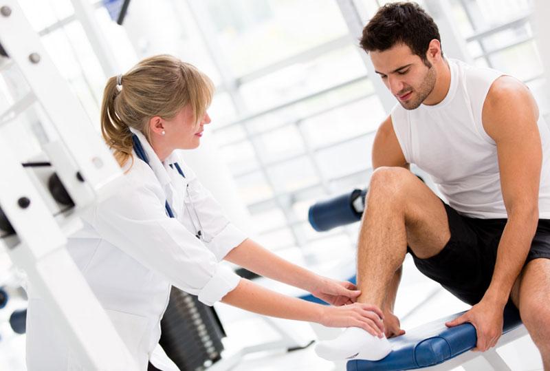 اصابات رياضية - دكتور