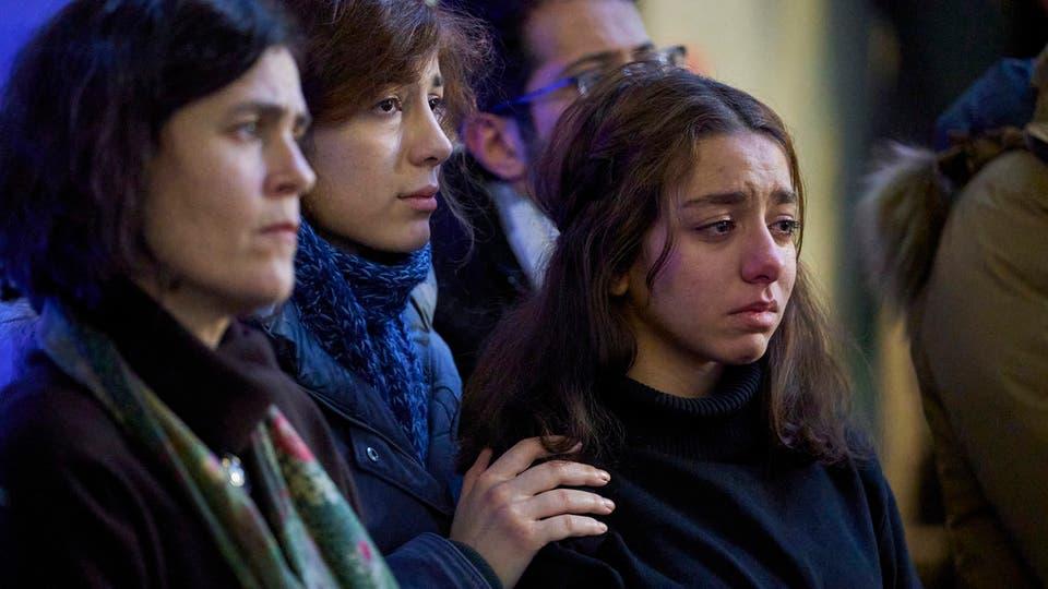 اهل ضحايا الطائرة الاوكرانية