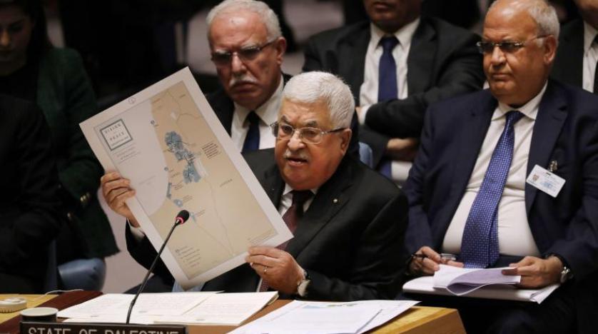 محمود عباس أمام مجلس الامن