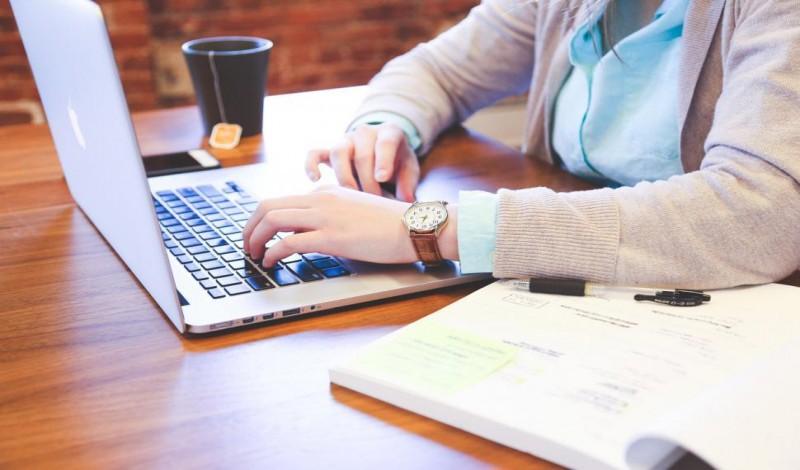 العمل من المنزل - الانترنت