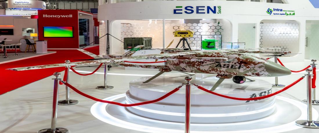 طائرة بدون طيار سعودية
