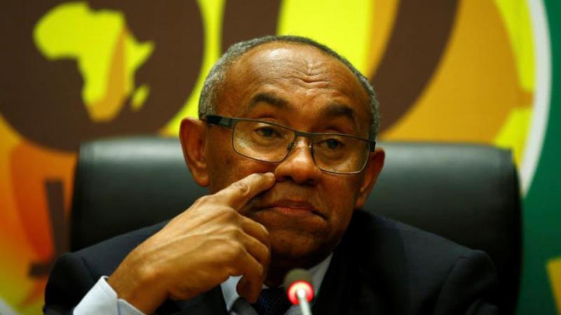 أحمد أحمد رئيس الاتحاد الافريقي لكرة القدم