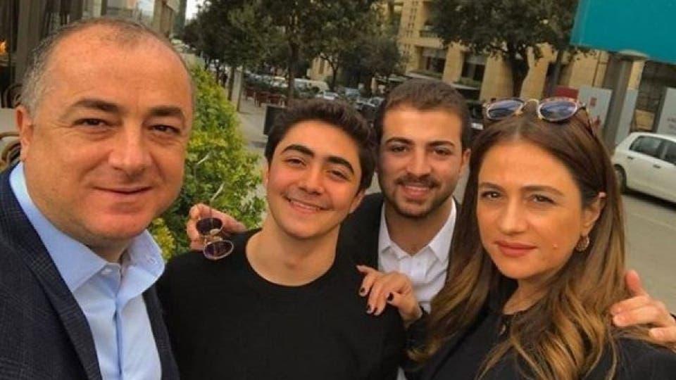 جوليا بطرس وعائلتها