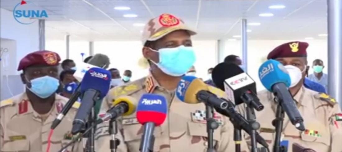 حميدتي - الجيش السوداني - السودان