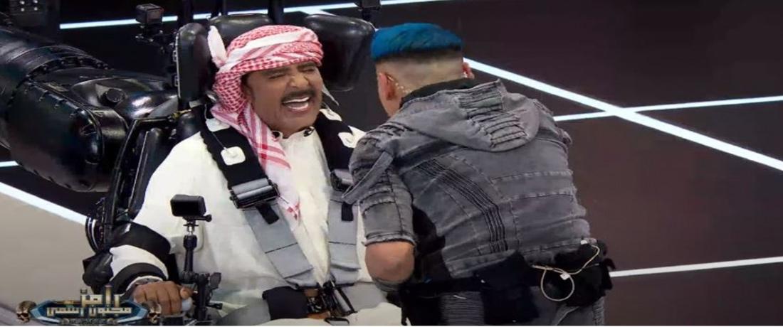 عبد الله بالخير في رامز مجنون رسمي