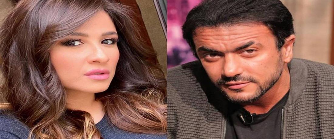 ياسمين عبد العزيز وأحمد العواضي