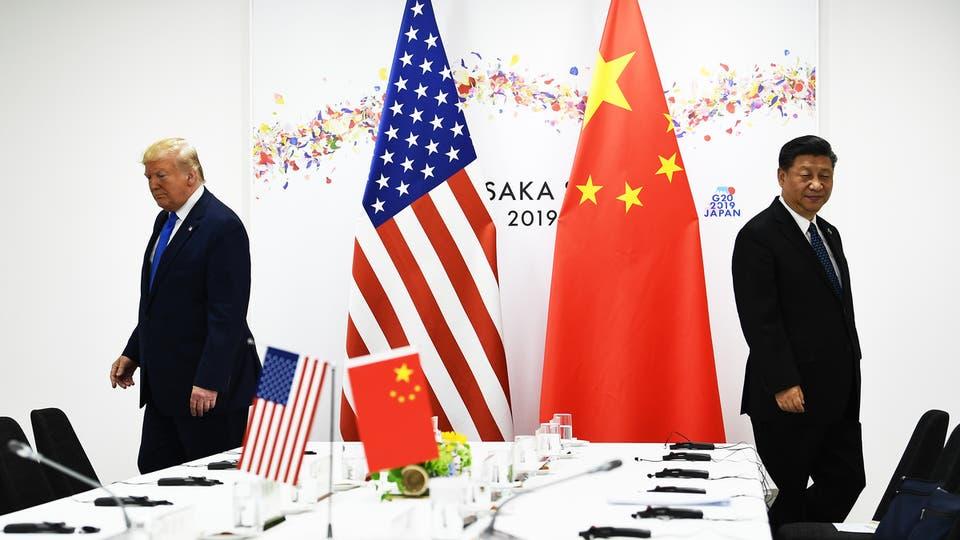 الصينوأمريكا - الرئيس الصيني والأمريكي