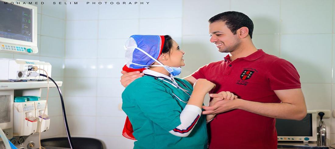 خطوبة طبيب وطبية في مصر - كورونا