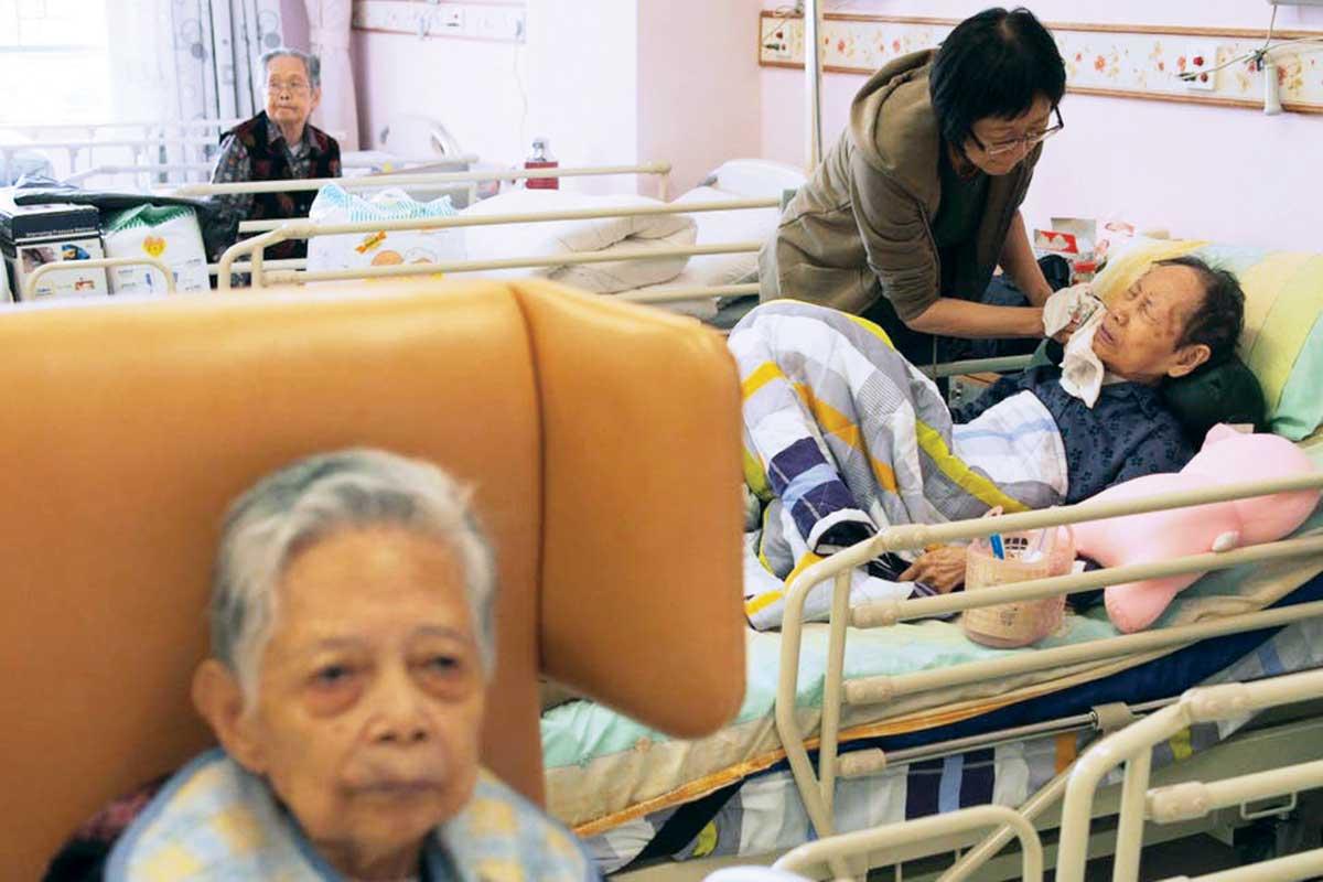 دور رعاية مسنيين في الصين